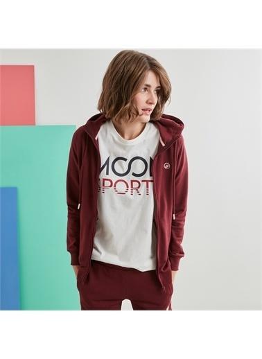 MoonSports Sweatshirt Kırmızı